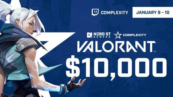 Complexity Gaming et Nerd Street Gamers annoncent Valorant Invitational